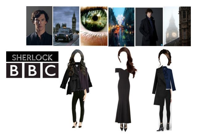 """""""Sherlock BBC"""" by sweetdreamer13 ❤ liked on Polyvore featuring AllSaints, KLS, Carven, Barbara Bui, The Pretty Dress Company, Marni, Levi's, Paige Denim and Mirror Image Home"""