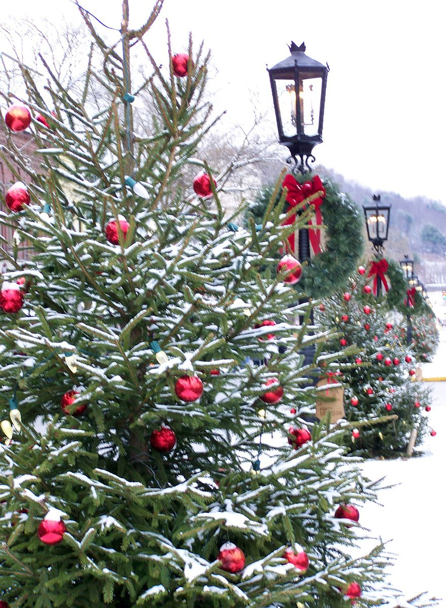 It S Beginning To Look A Lot Like Christmas Wellsboro Pa Photo By Lonny Frost Outdoor Christmas Tree Outdoor Christmas Christmas Magic