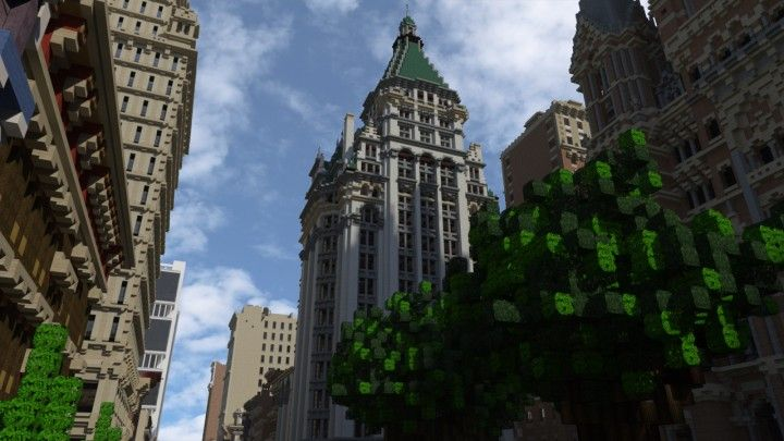 Toungsten Pabst Building   World Of Keralis Minecraft Project