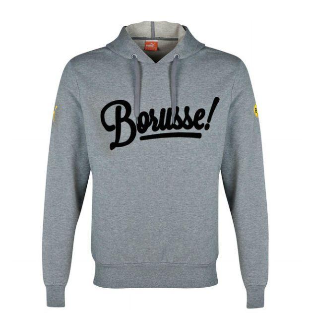 PUMA Herren BVB Borusse Hoody Fleece Pullover