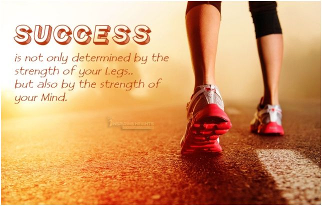 Success is not only determined by..