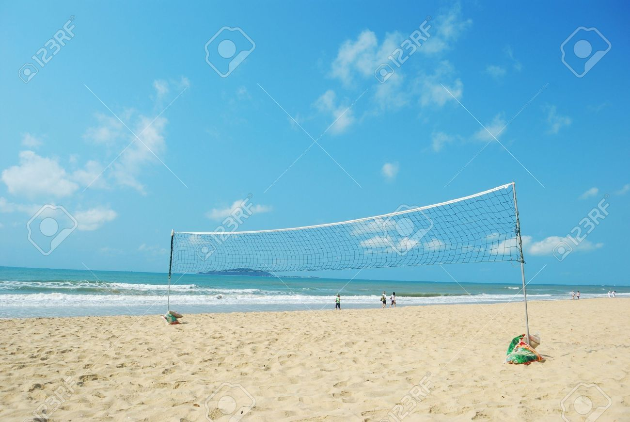Best Nature And Background Of Volleyball Beach Volleyball Court As Well As The Background Of The Sea Volleyball Wallpaper Amazing Nature Sunset Background