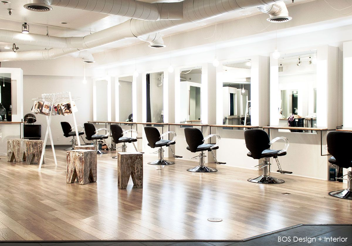salon interior design hair