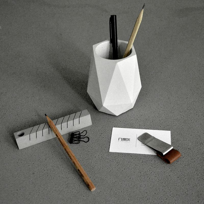Silicone Mold Creative Geometric Polygonal Concrete Flower Pot Mold Office