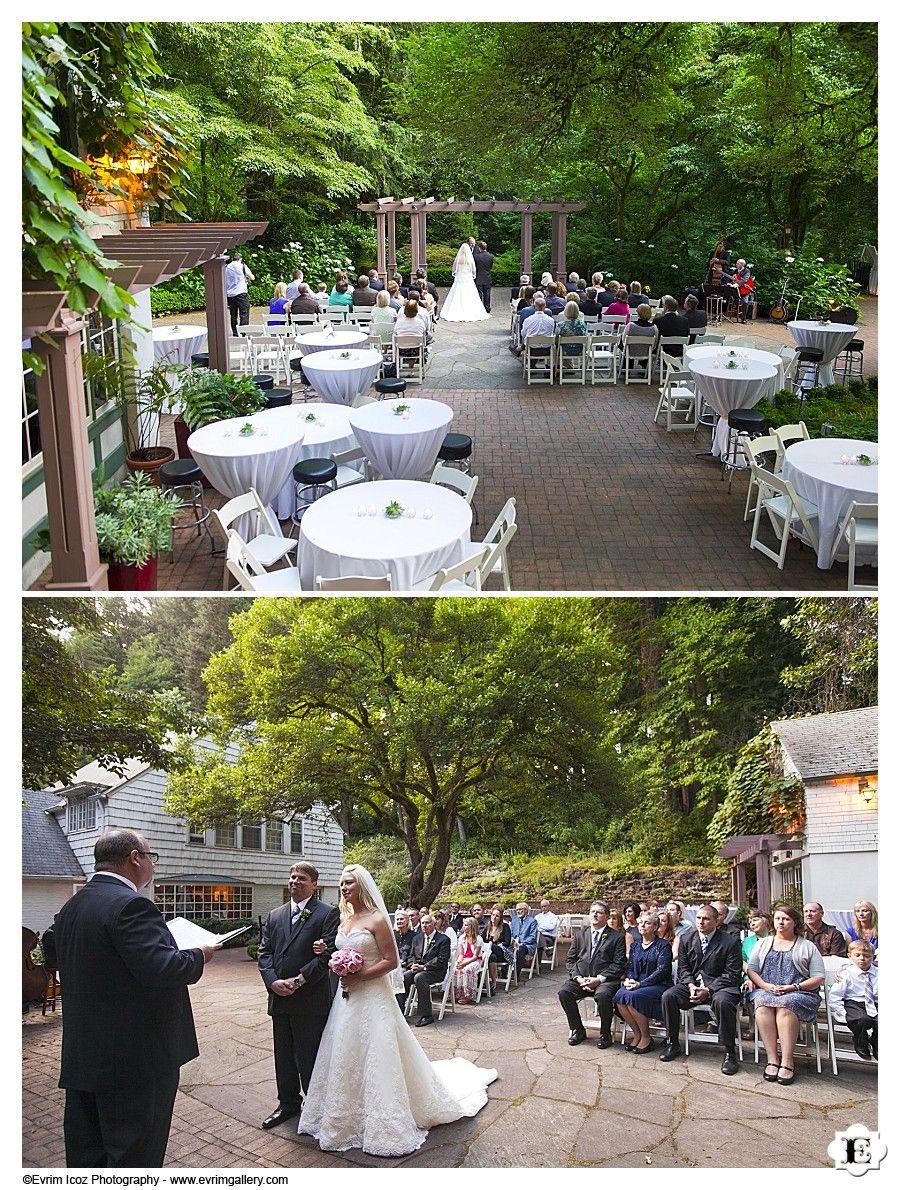 The Wedding Dining And Reception Indoor Area At Leach Botanical Garden Weddings Portland Oregon Pinterest