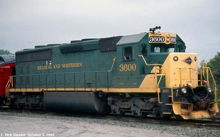 JENKINTOWN New Jersey Reading Line Railroad CRUSADER Train Poster Art Print 070
