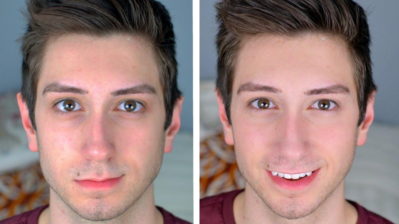 """Natural """"No Makeup"""" Makeup Tutorial for Men Male makeup"""