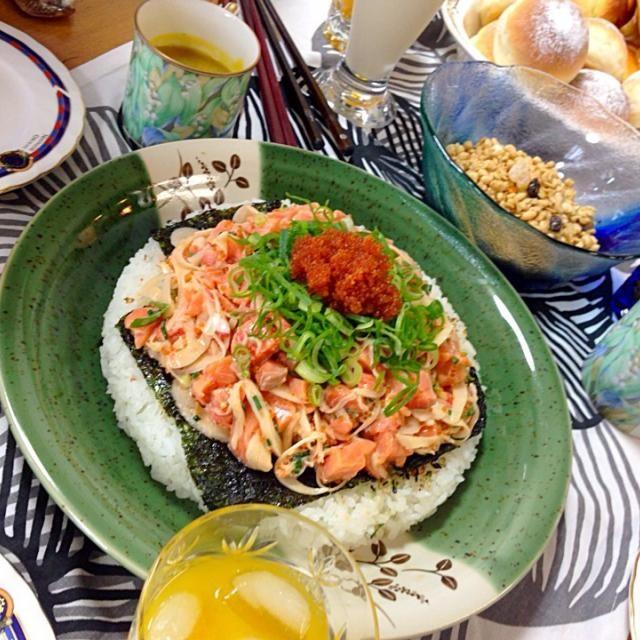 ホームパーティで大好評でした - 50件のもぐもぐ - スパイシーサーモンポキ by Ray's Hawaiian Seafood
