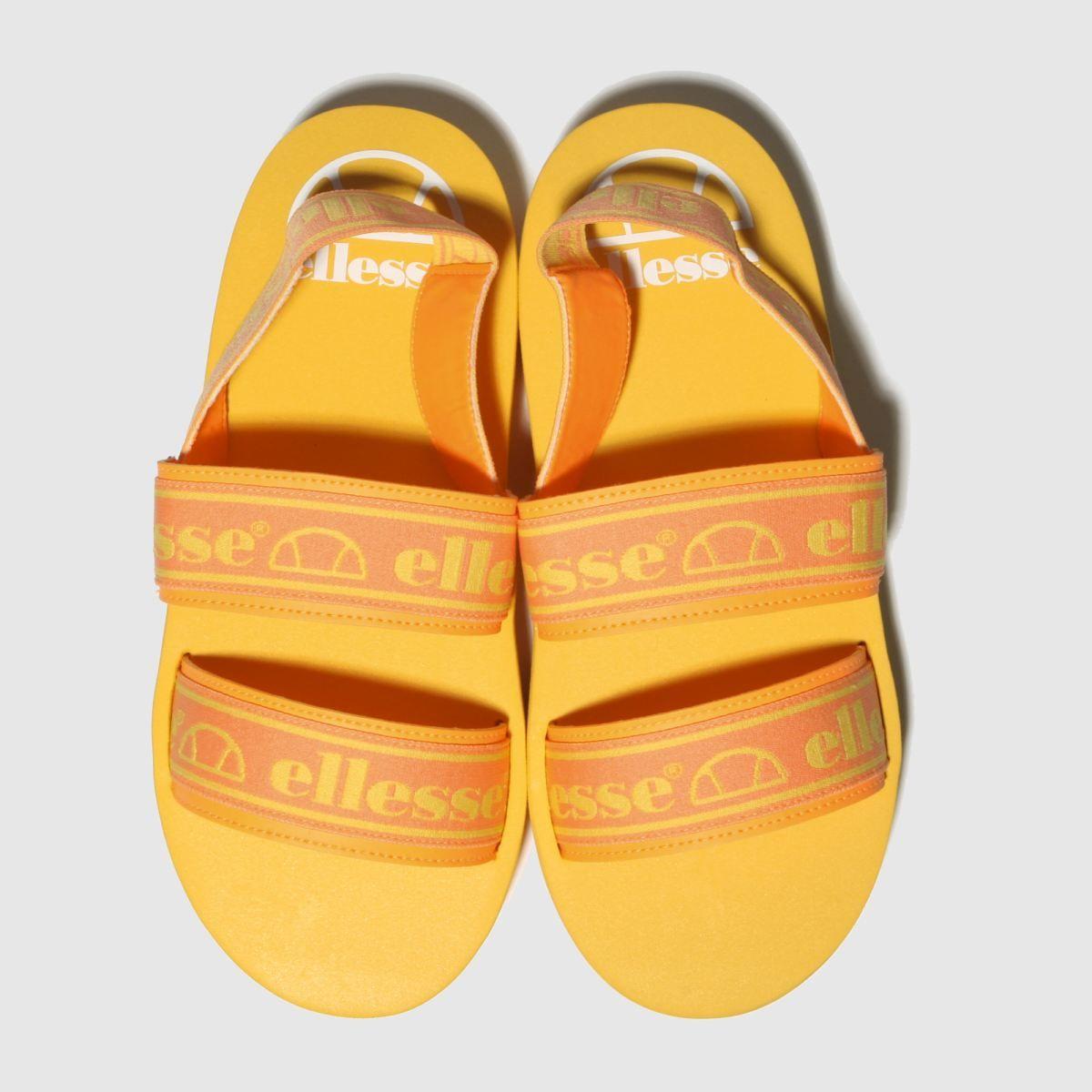 Ellesse Orange Giglio Sandals 598x598