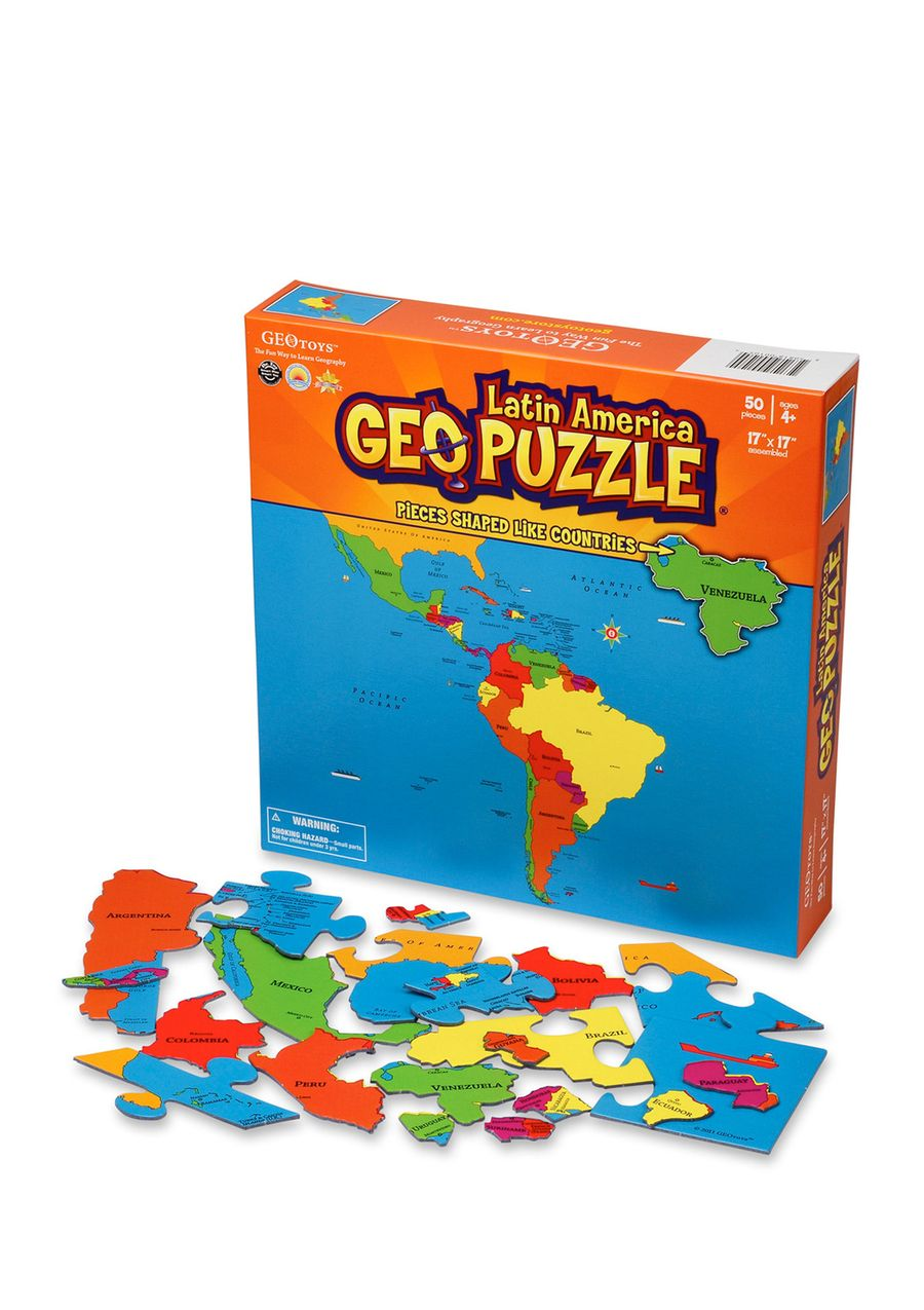 geopuzzle latin america geopuzzle latin america includes 50