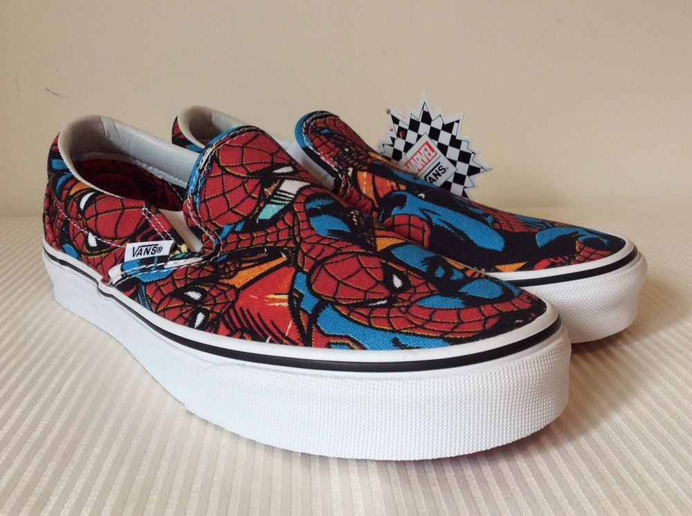 be97a65ce6 Vans x Marvel Avengers Classic Slip-On Spiderman VN0A38F79H7 NWB DS Men s  Sz 7  fashion  clothing  shoes  accessories  mensshoes  athleticshoes (ebay  link)