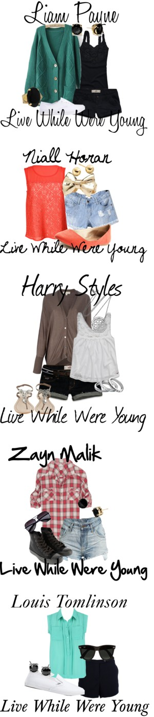 """""""LIVE WHILE WERE YOUNG ONE DIRECTION"""" by ebacher on Polyvore"""