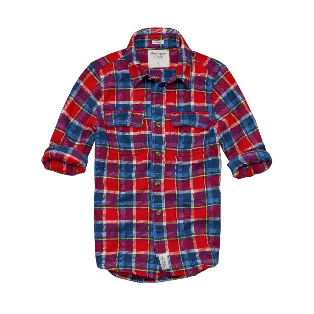 Red flannel shirts  Abercrombie u Fitch Slide Brook Flannel Shirt  CHIC u SPORTY FALL