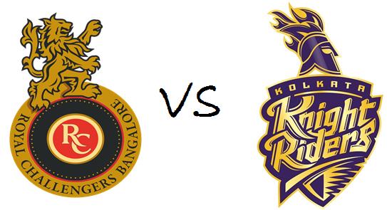 Match 34th Rcb Vs Kkr Ipl 2016 Live Score Card And Result Ipl Kolkata Knight Riders Royal Challengers Bangalore