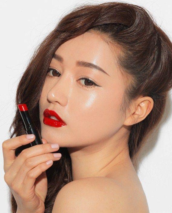 Red 3ce Korean Beauty Makeup Korean Beauty Tips Korean