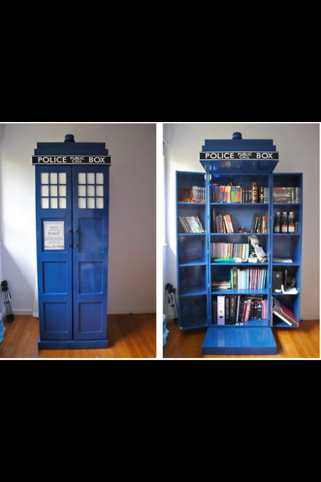 Tardis Book Shelf