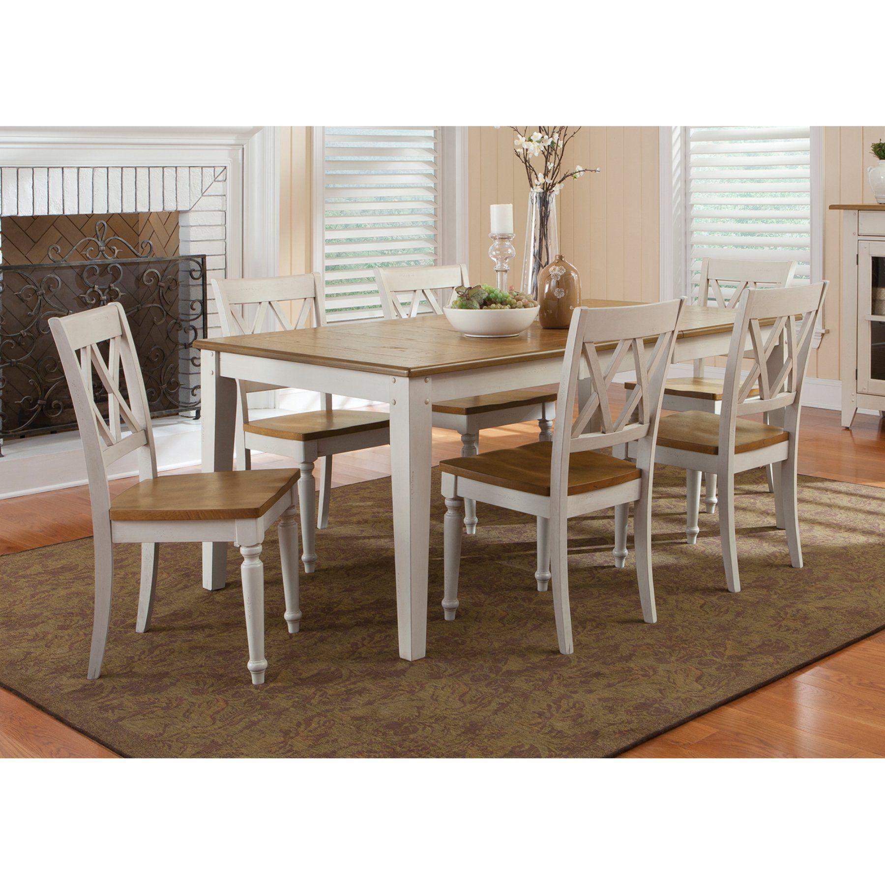 Liberty Furniture Canton Rectangular Leg Table - 841-T4074 ...