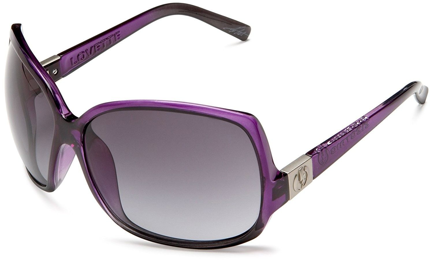 Lovette Gradient Black Fadegrey Purple Sunglasses 08PknNwOX