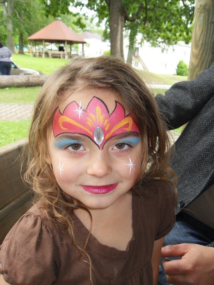 DIY Face Paint #DIY #FacePainting #Halloween #Costumes - face painting halloween ideas