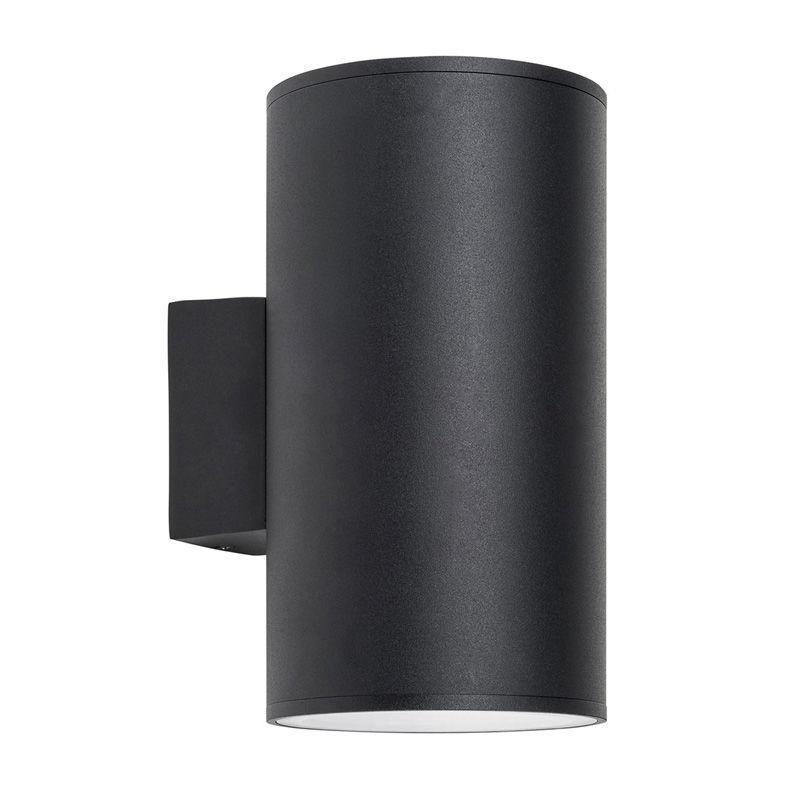 Porter Outdoor Led Oversized Updown Wall Light Large Black Havit
