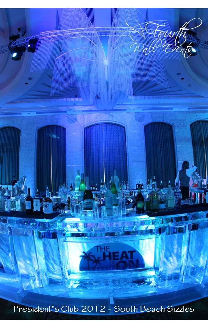 South Beach Sizzles President S Club April 2017 Loews Miami Ice Bar Credit Styled