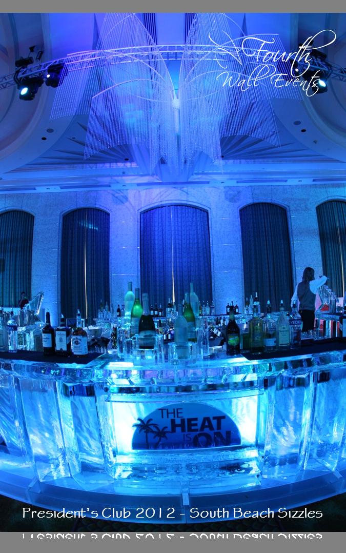 South Beach Sizzles President S Club April 2017 Loews Miami Ice Bar