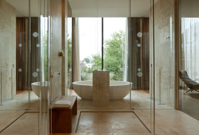 Bathroom of Penthouse in the Conservatorium Hotel,  Amsterdam, Netherlands