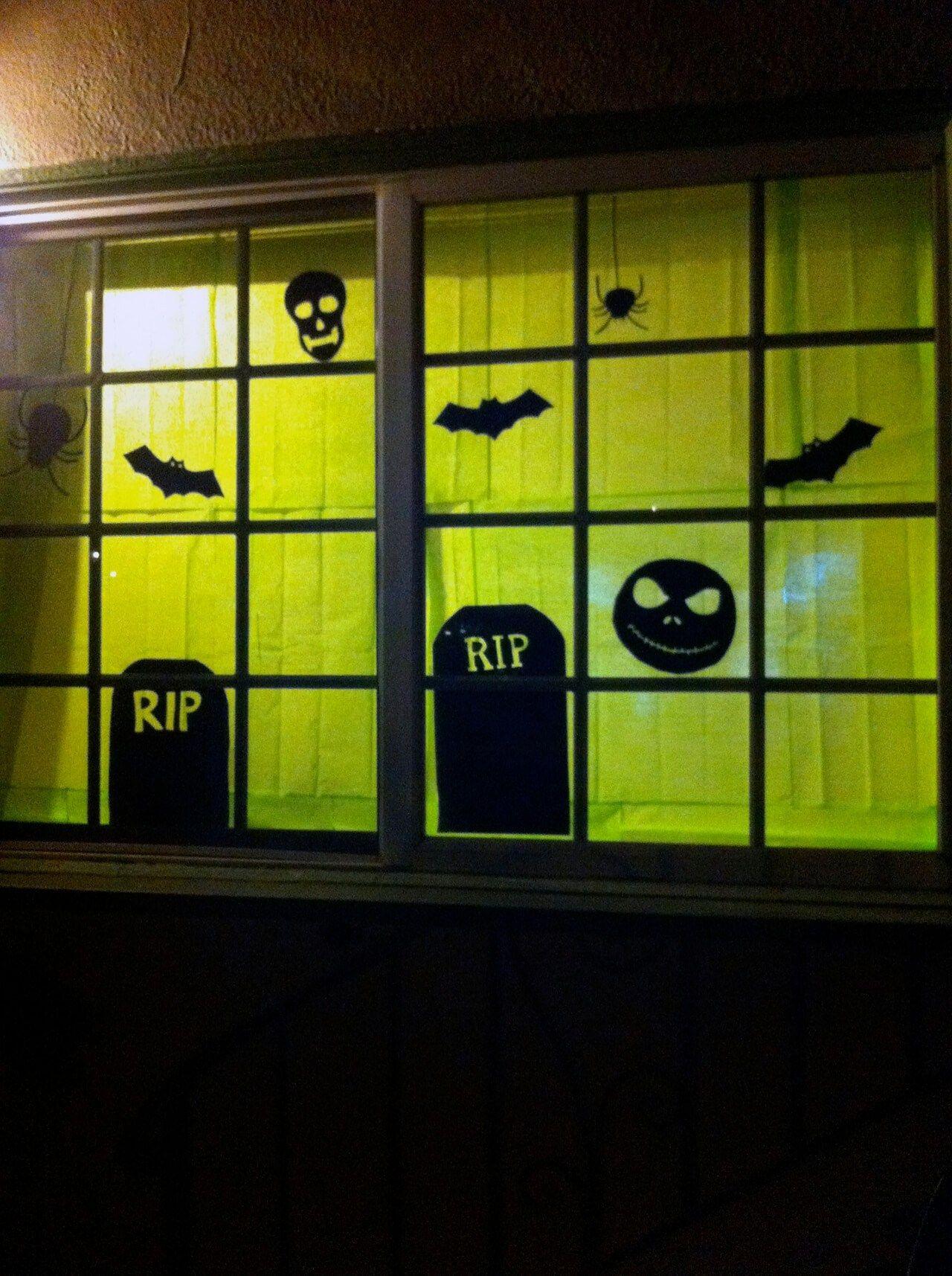 46+ Diy halloween window silhouettes ideas in 2021