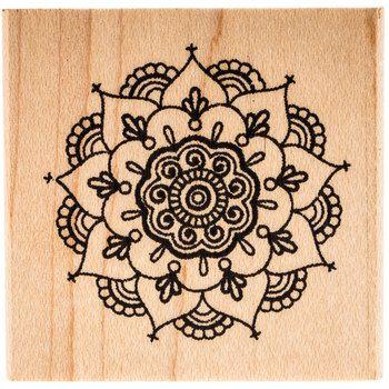 Henna Mandala Rubber Stamp | Hobby Lobby | 1330760