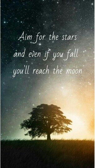 Good Night Wallpaper With Quotes In Hindi Quot Aim For The Stars And Even If You Fall You Ll Reach The