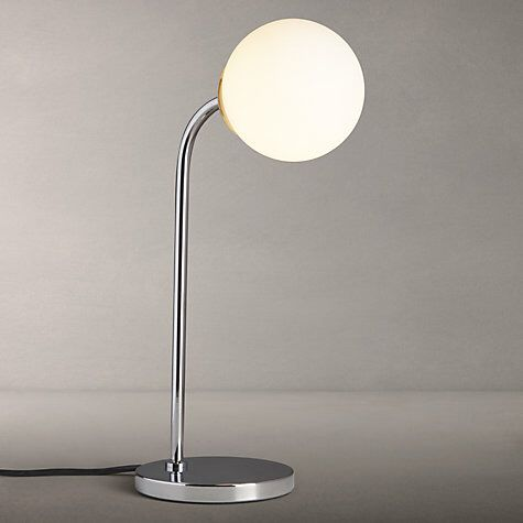 John Lewis Odyssey Touch Lamp, Chrome