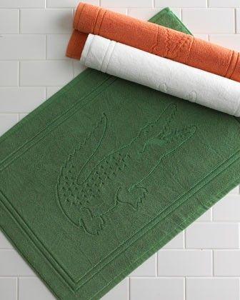 Love The Pop Bright Color Lacost Bath Mats And Towels Tub Mat Traditional Baths Kids Bathroom