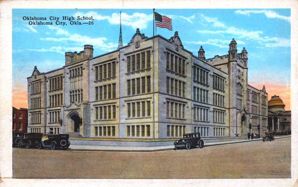 OKC Central High School 1920's