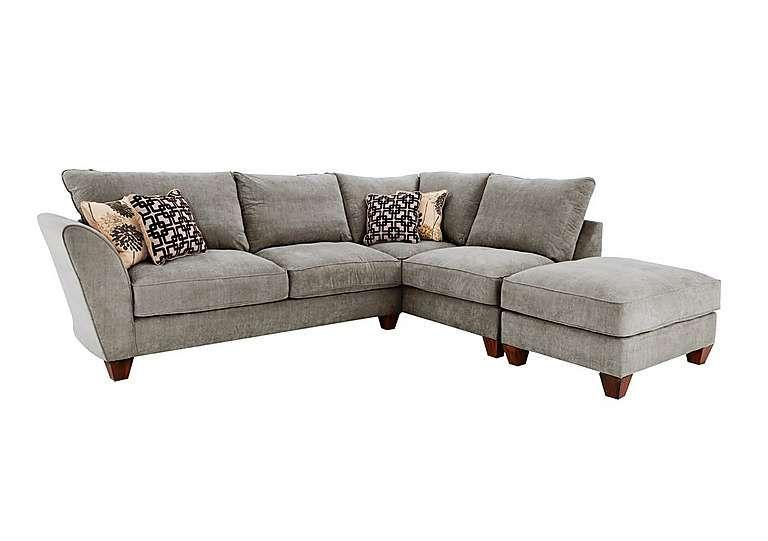 Tangier Classic Back Fabric Corner Sofa Corner Sofa Corner Sofa Chaise Sofa Offers