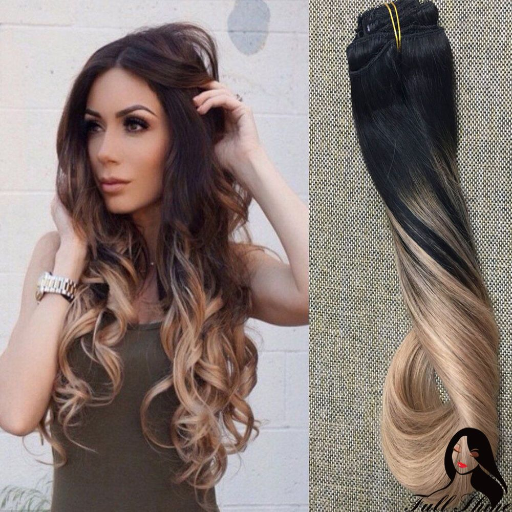 Extension cheveux clip naturel ebay