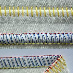 Overlockstiche erklärt #sewingtechniques