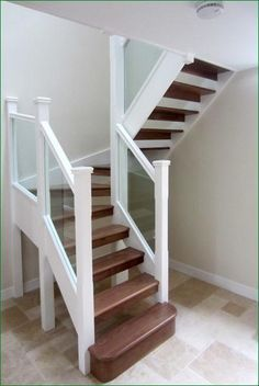 Attractive 27 Painted Staircase Ideas Which Make Your Stairs Look New