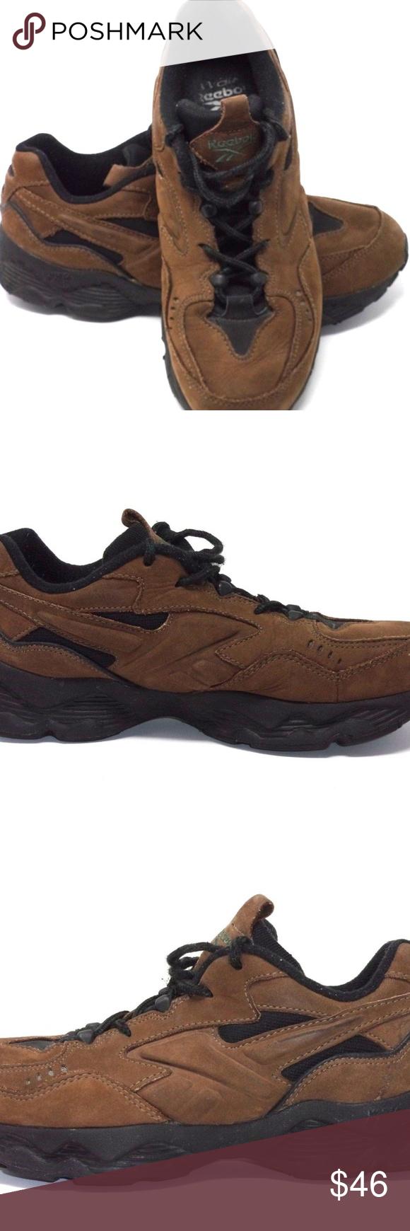 4335449440 Reebok Men's DMX Walking Shoe Brown Reebok Men's DMX Walking Shoe ...