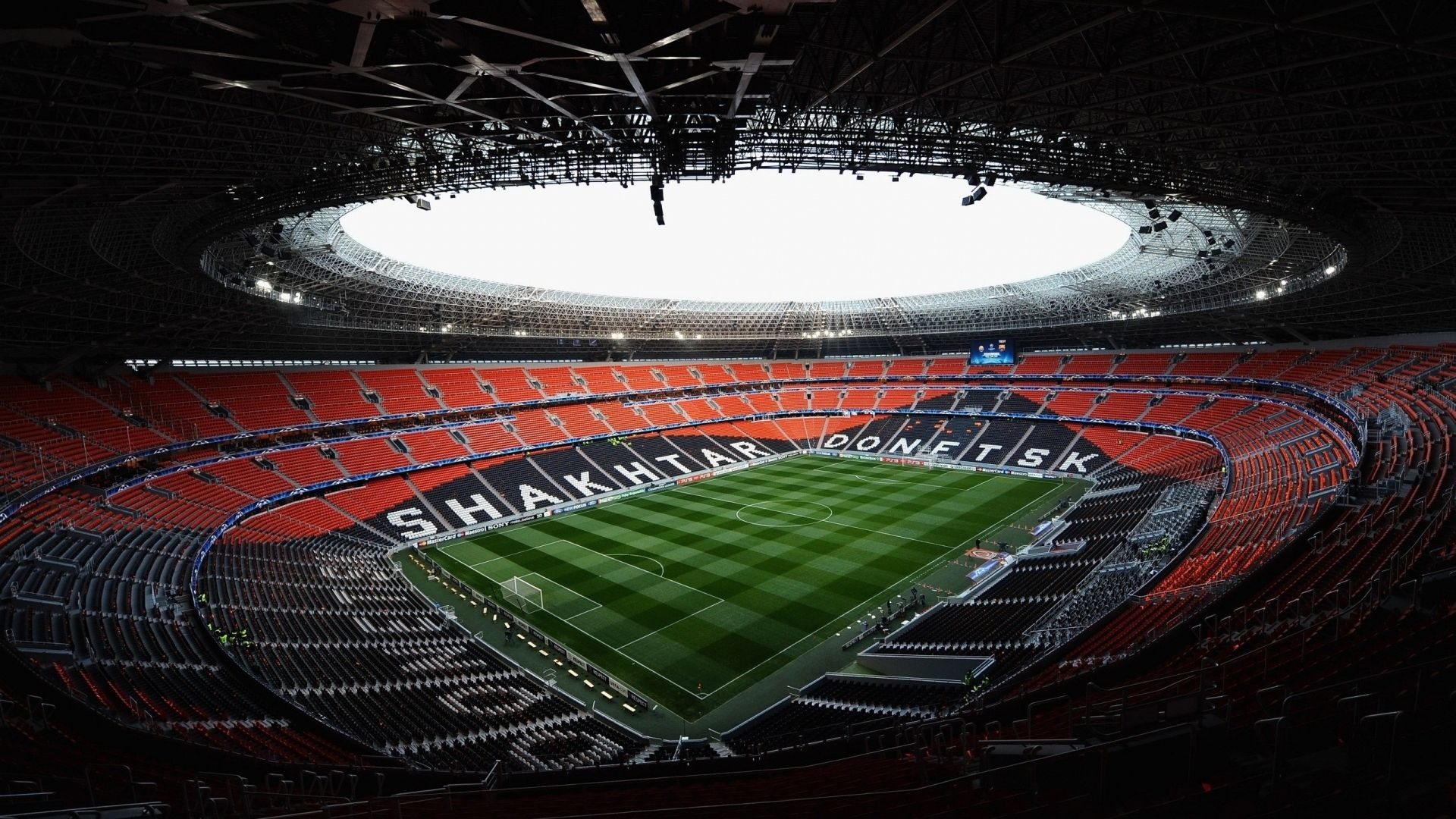 Shakhtar Donetsk Stadium Wallpaper Stadium Wallpaper Arena Football Football Stadiums