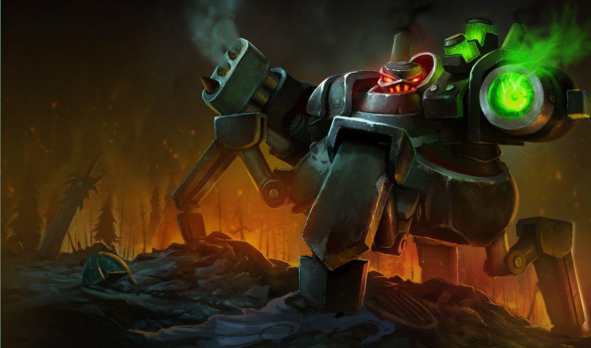 battlecast urgot - Google Search   The future ~cyberpunk