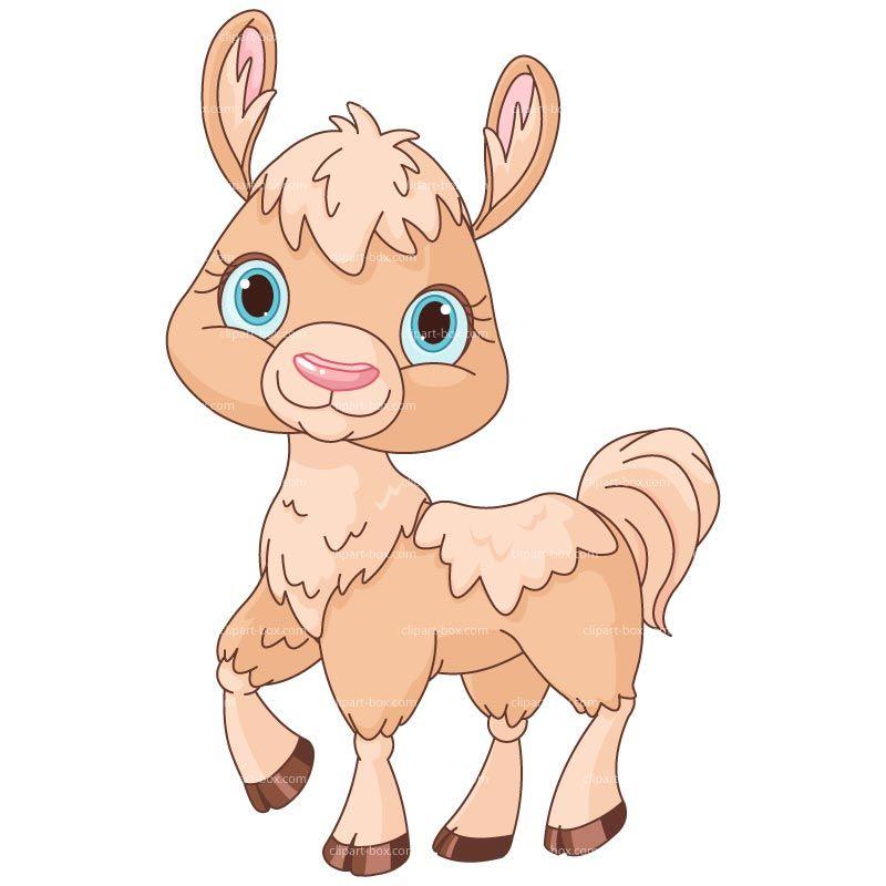 Clipart Lama Royalty Free Vector Design Cute Cartoon Animals Cute Llama Cute Animals