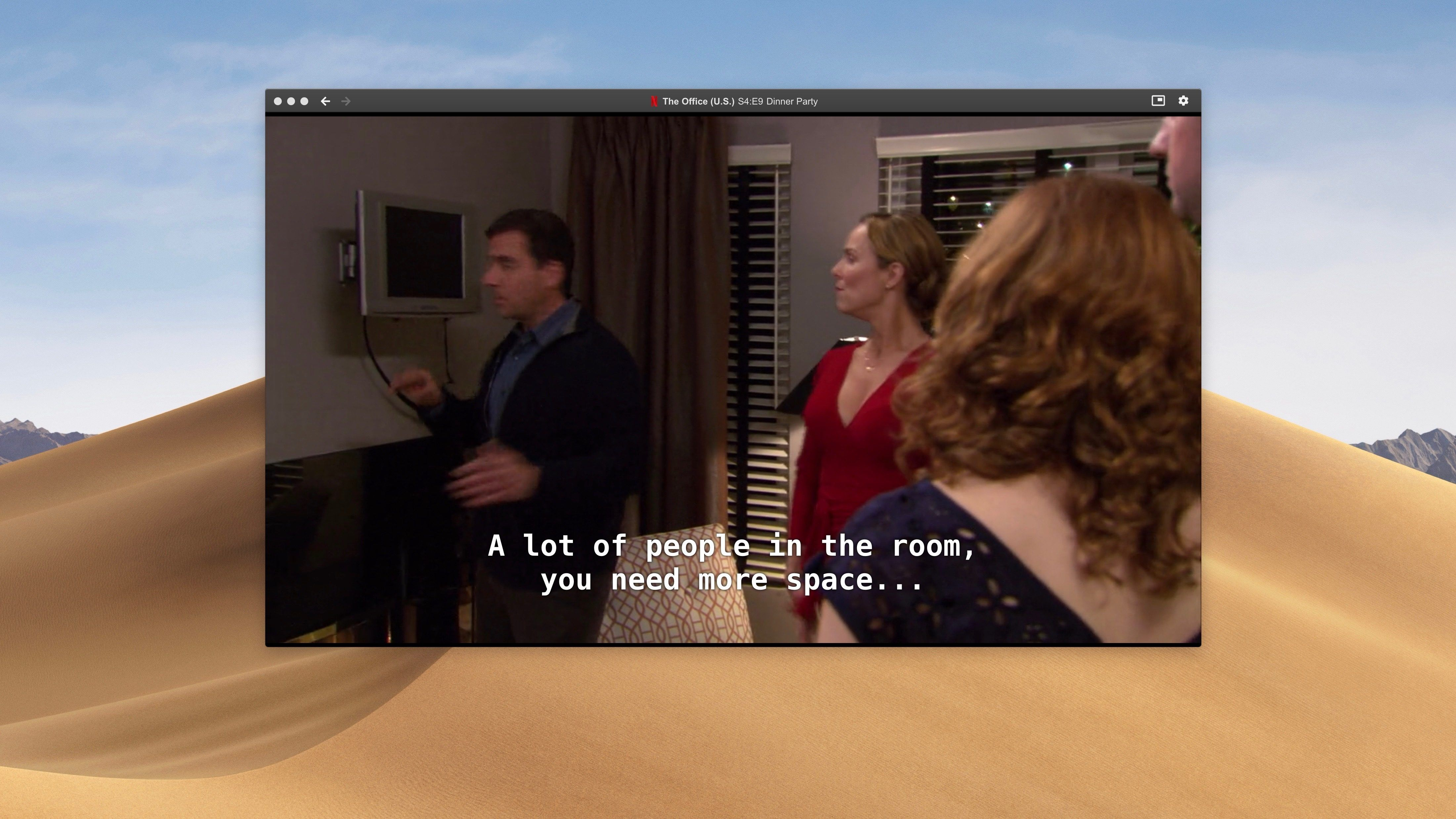 'Clicker' is a unique Netflix app for Mac with Touch Bar