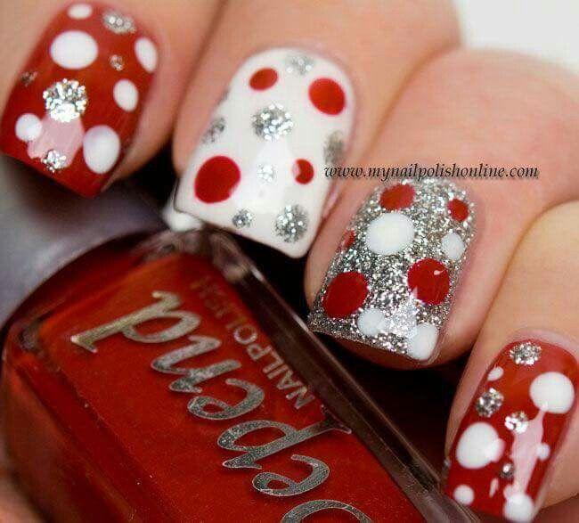 Christmas nails Nail Design, Nail Art, Nail Salon, Irvine, Newport ...