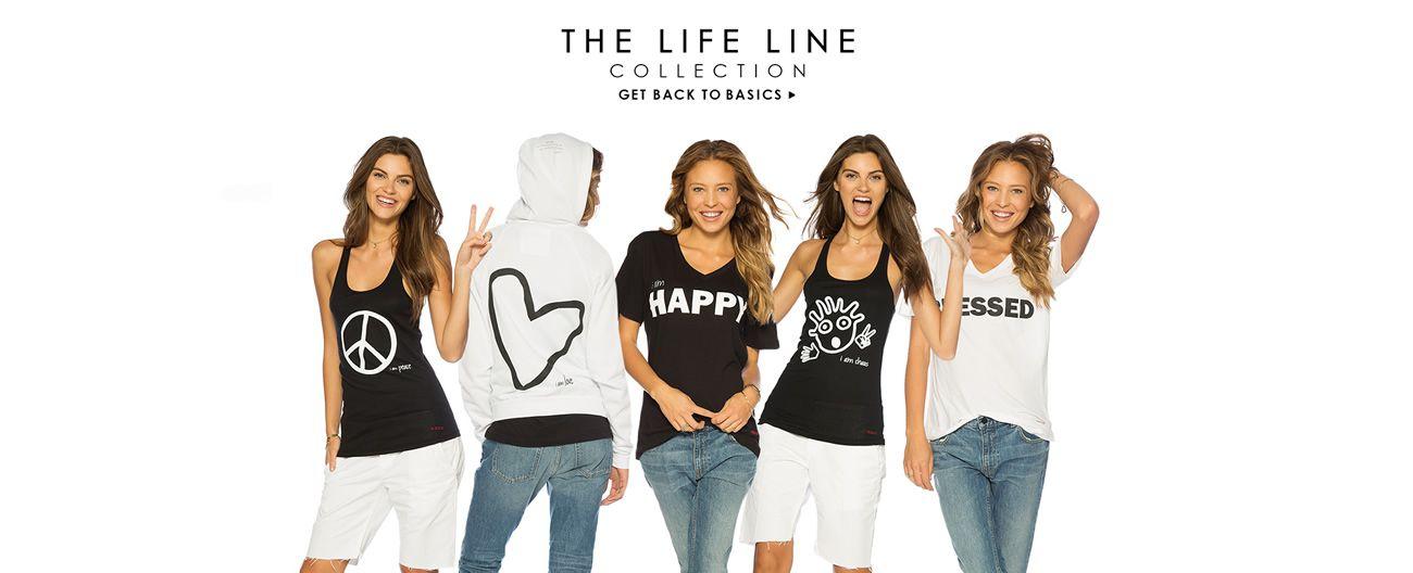Peace Love World Clothing Life Line
