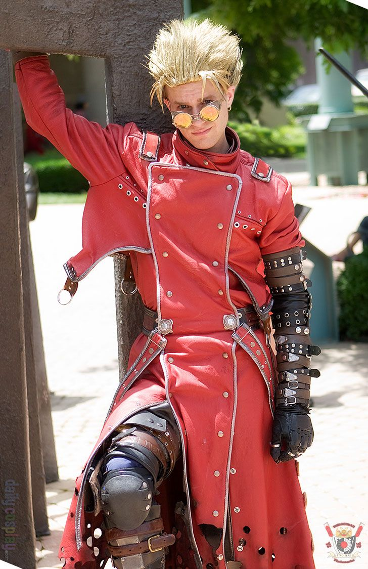 ExShadow as Vash the Stampede from Trigun http
