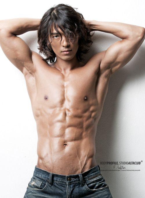 Muscular Asian Boys