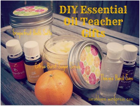 Diy Essential Oil Teacher Gifts Essential Oils Teacher Gifts