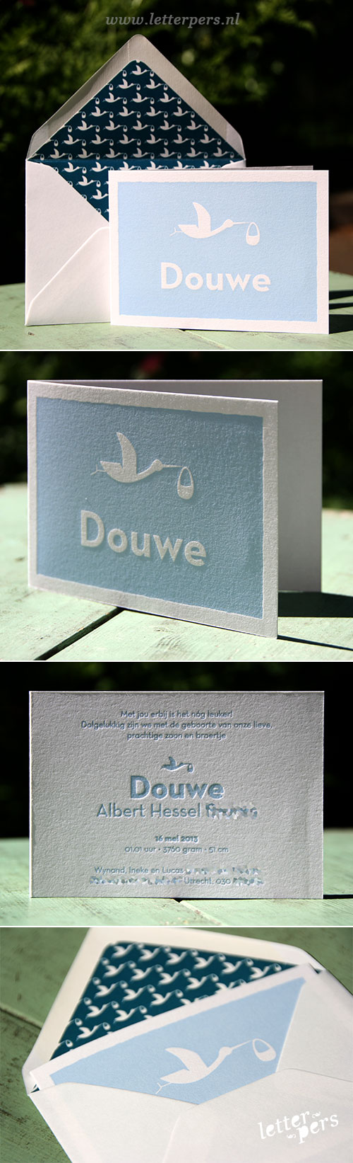 letterpers_letterpress_geboortekaartje_douwe_blauw_ooievaar_strak_envelop_print