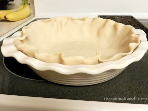 Easy & Delicious Chicken Pot Pie | Organizing Homelife