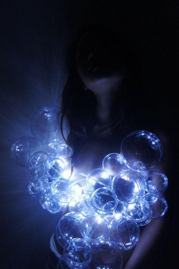 EDC LED Light Up Bubble Princess Rave Bra Halloween Costume & EDC LED Light Up Bubble Princess Rave Bra Halloween Costume | EDC ...
